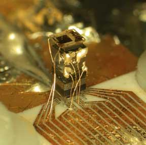 On-chip atomic clock.